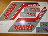 Sticker set JAWA - 632,638,639 - Typ 1