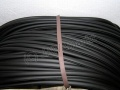 Rubber bordering - 1m - black