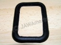 Rubber of tail lamp plastic