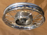 Wheel 360 - CHROM spokes !
