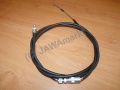 Clutch bowden cable with adjustable srew in...