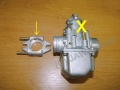 Carburettor reduktion - old engine and new...