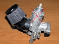 Tuning filter for carburettor