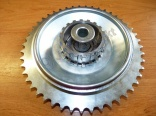 Rear chainwheel 354/353 COMPLETE - 47t mill work!!