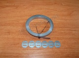 2m original band for electro cables + 6x clips
