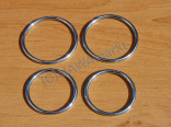 Dust cover clips - set for Jawa 50 - rings