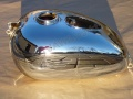 Fuel tank 175/356 with hole for Amperemeter -...