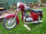 Jawa 350/354 before renovation