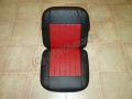 Seat sidecar Velorex 562 - red/black